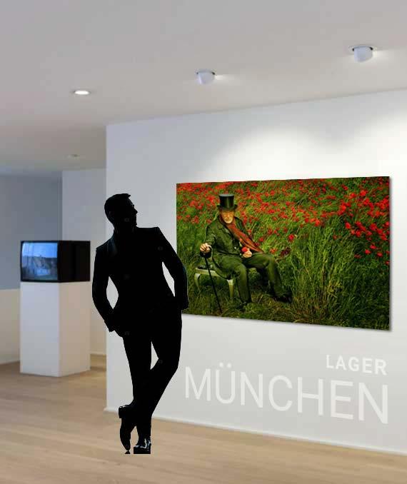 Foto auf Acrylglas XXL - München